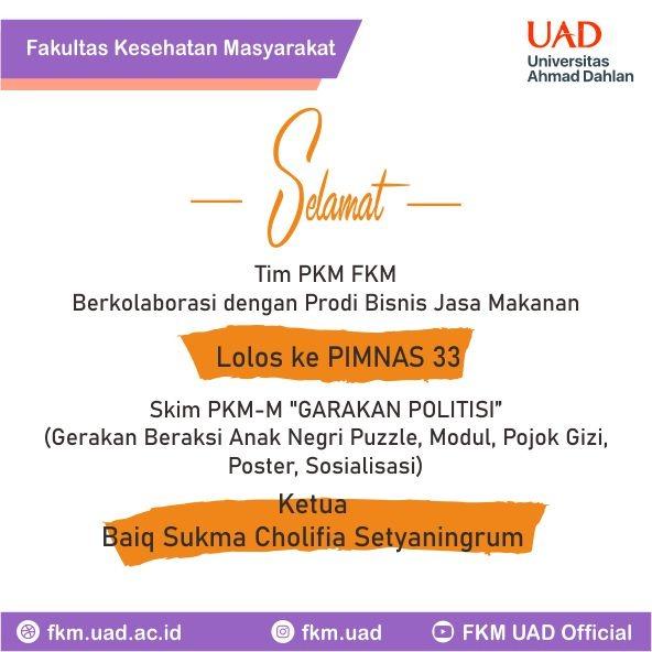 Tim PKM FKM UAD 2020